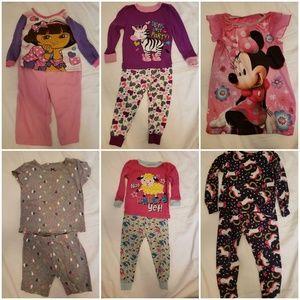 Girls sleepwear 18-24 months